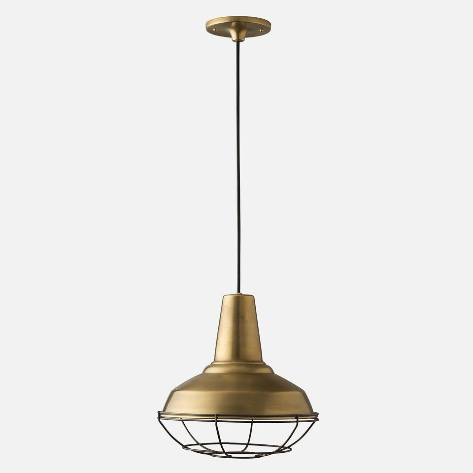 Factory Light 4 Cord Pendant (With images) | Factory ...
