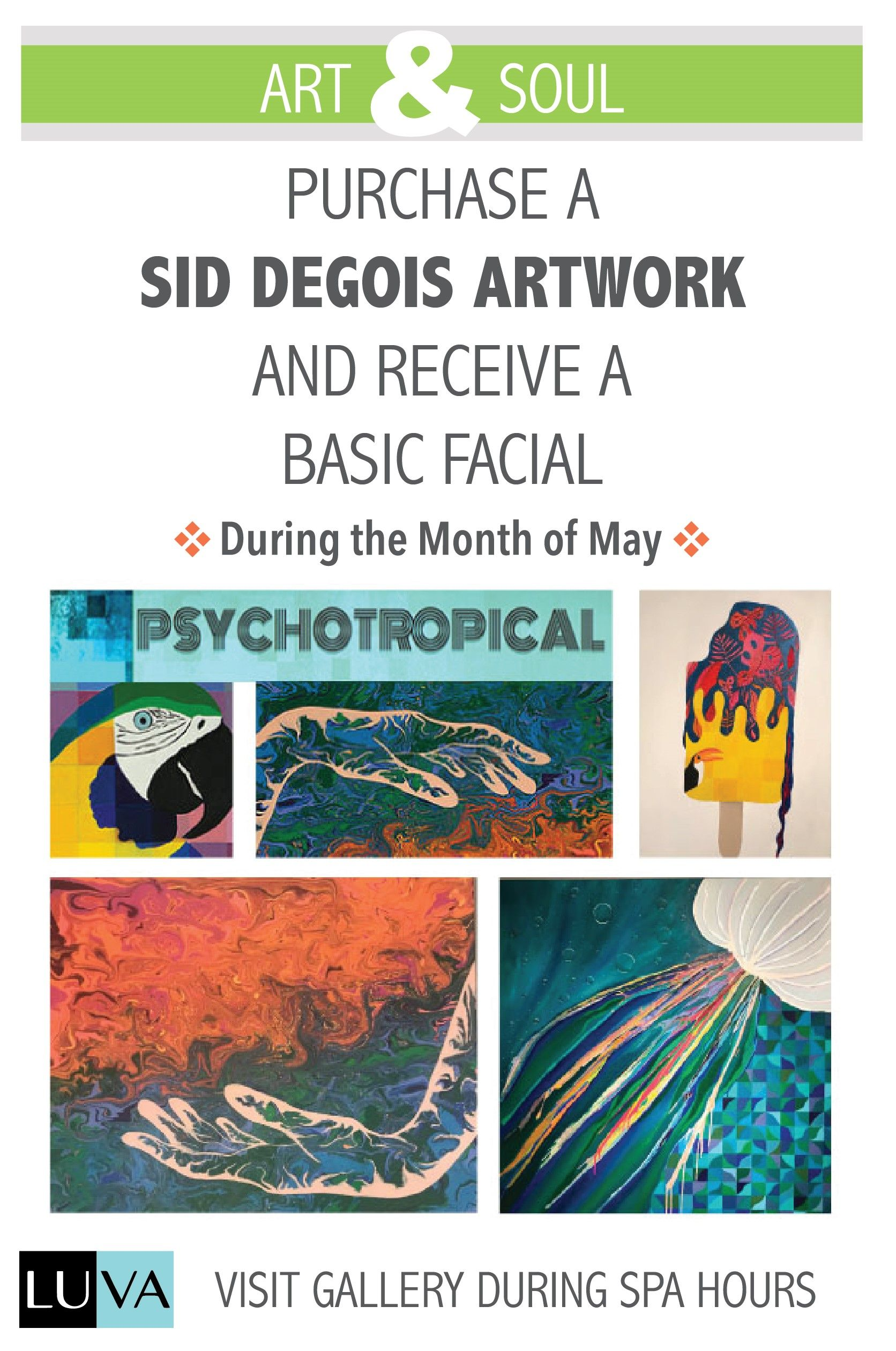 On a Purchase of any Sid Day Degois Paintings you will