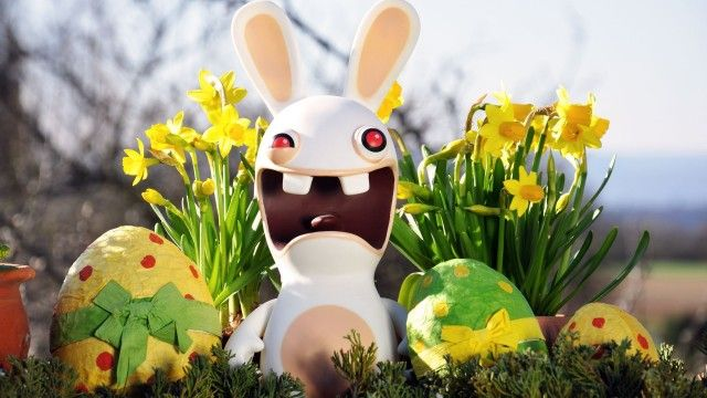 30 Funny Easter Bunny Pictures And Images Easter Bunny Pictures Easter Wallpaper Funny Easter Bunny