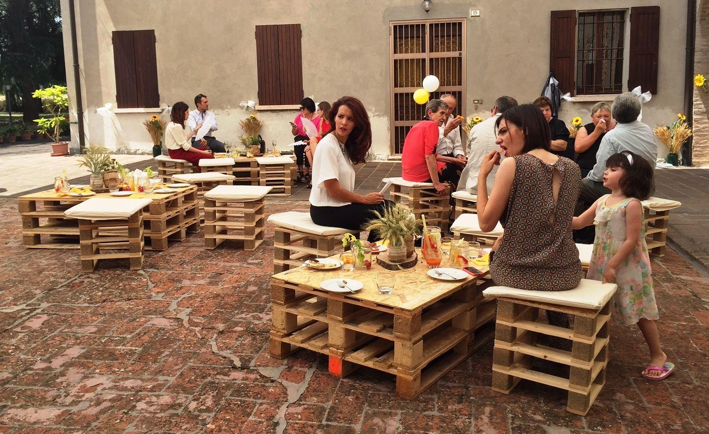 Matrimonio Rustico Modena : Matrimonio informale by da paolo catering san prospero