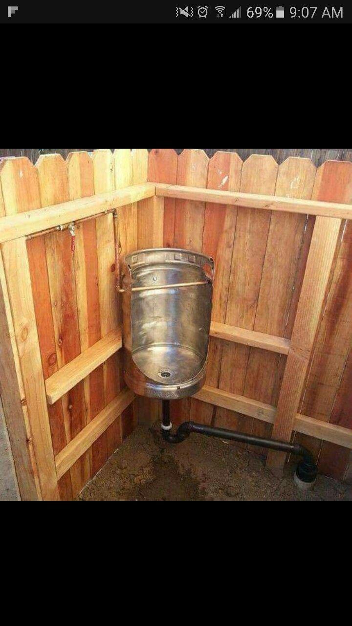 Outdoor Urinal Every Guy Needs This By Their Outdoor Bar Mit Bildern Gartentoilette Aussentoilette Ideen Fur Projekte