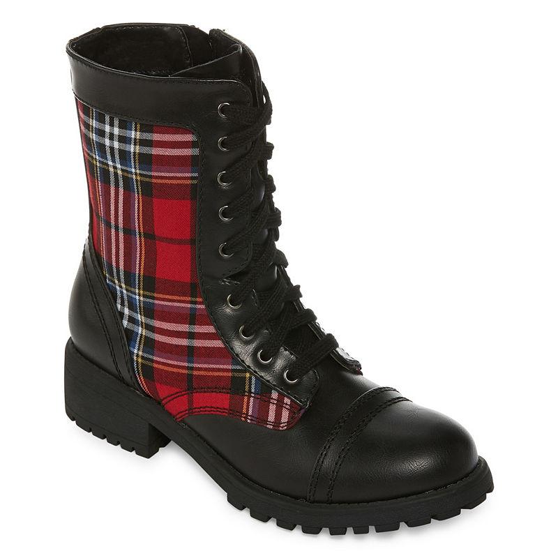 Arizona Jones Womens Combat Boots