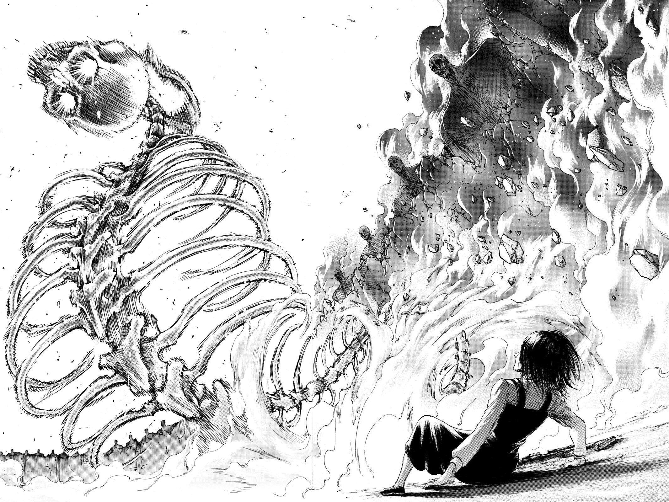 Shingeki No Kyojin Chapter 122 In 2020 Attack On Titan Series New Image Wallpaper Attack On Titan