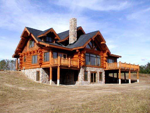 Quality Log Homes Best Prices Cascade Handcrafted Log Homes Log Homes Log Home Decorating Log Cabin Homes