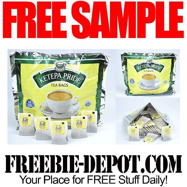 Free Sample Ketepa Pride Tea Bags Freesample