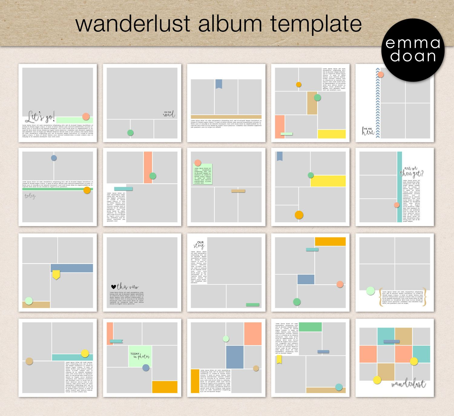Download This template collection is perfect for documenting your ...