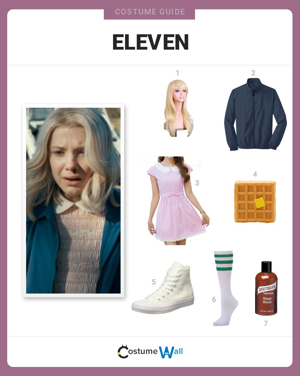 Pink dress from stranger things  Dress Like Eleven