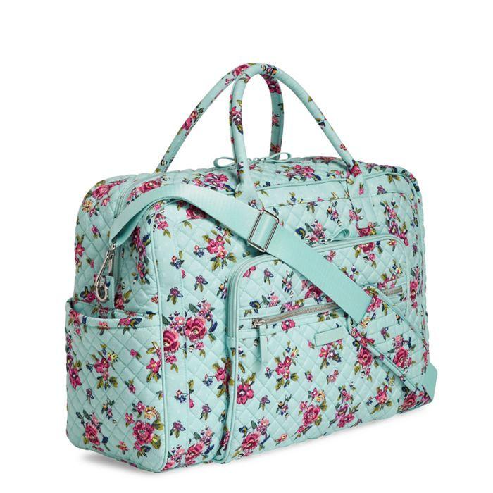 e2b477af2 Iconic Weekender Travel Bag in Water Bouquet (#22235L83). Iconic Weekender  Travel Bag in Water Bouquet (#22235L83) Vera Bradley ...