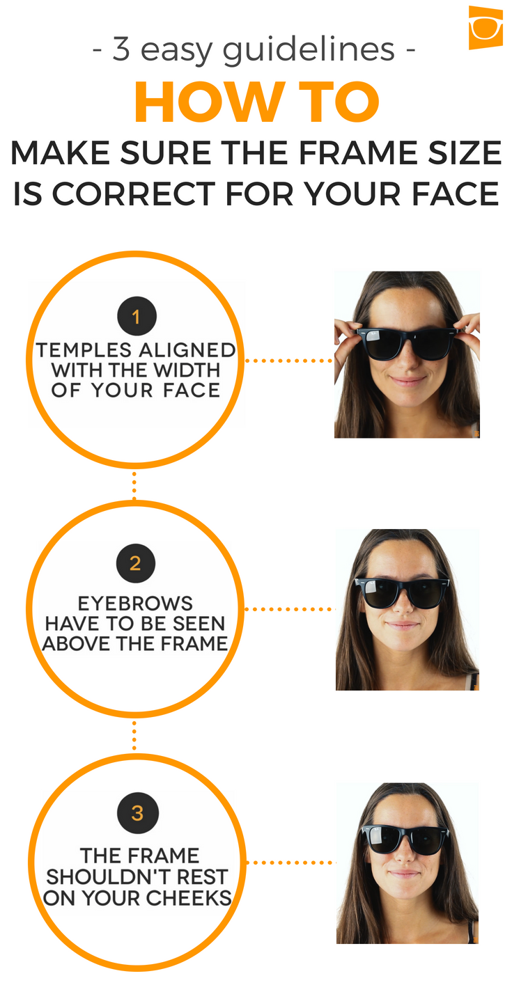 98c2d3013d9e Buying glasses made simple  3 EASY GUIDELINES on how to make sure your  glasses fit your face properly  HowTo  DIY  Hack  lifehack  remedy  facts  ...