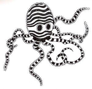 Tim Burton octopi