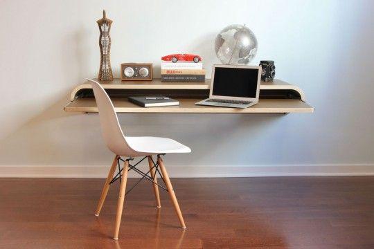 Bureau suspendu par Orange22 design lab | Desks