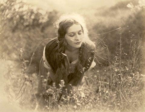 Havefun22 Marguerite De La Motte 1924 In The Meadow Vintage Photographs Vintage Photography Vintage Photos