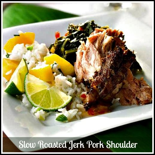 Slow Roasted Jerk Pork Shoulder. If you love pulled pork ...