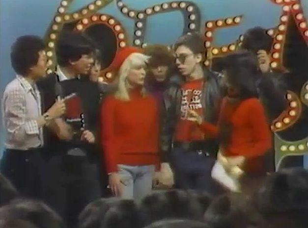Blondie interviewed on Japanese TV 1978