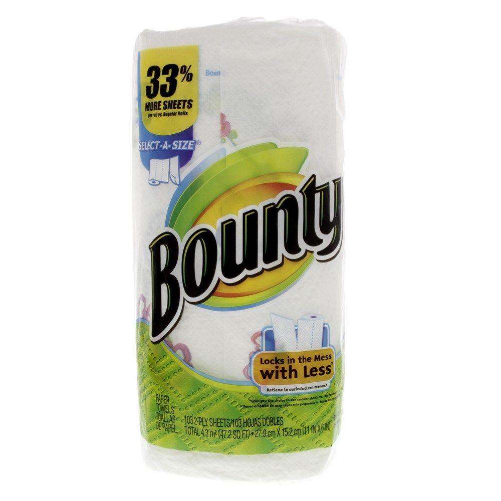 Buy Bounty Paper Towel 103 Sheets X 2 Ply 1 Roll Online in UAE ...