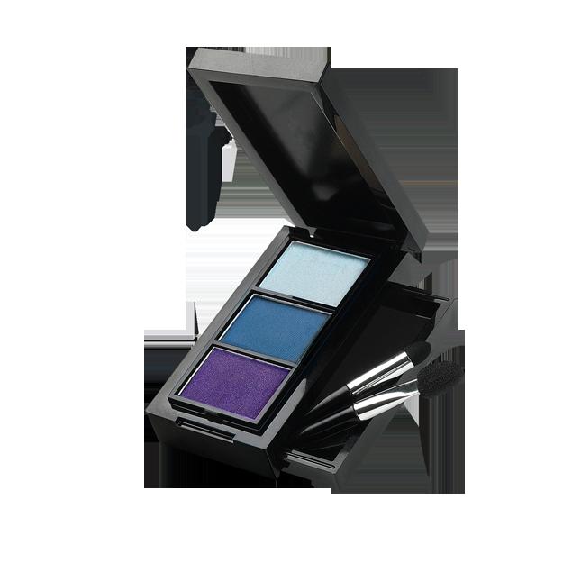 Oriflame Beauty Colour Pro Eye Shadow Trio Endast 69 kr (ord.pris 160 kr) Finns i färgerna Shimmering Green och Royal Blue.