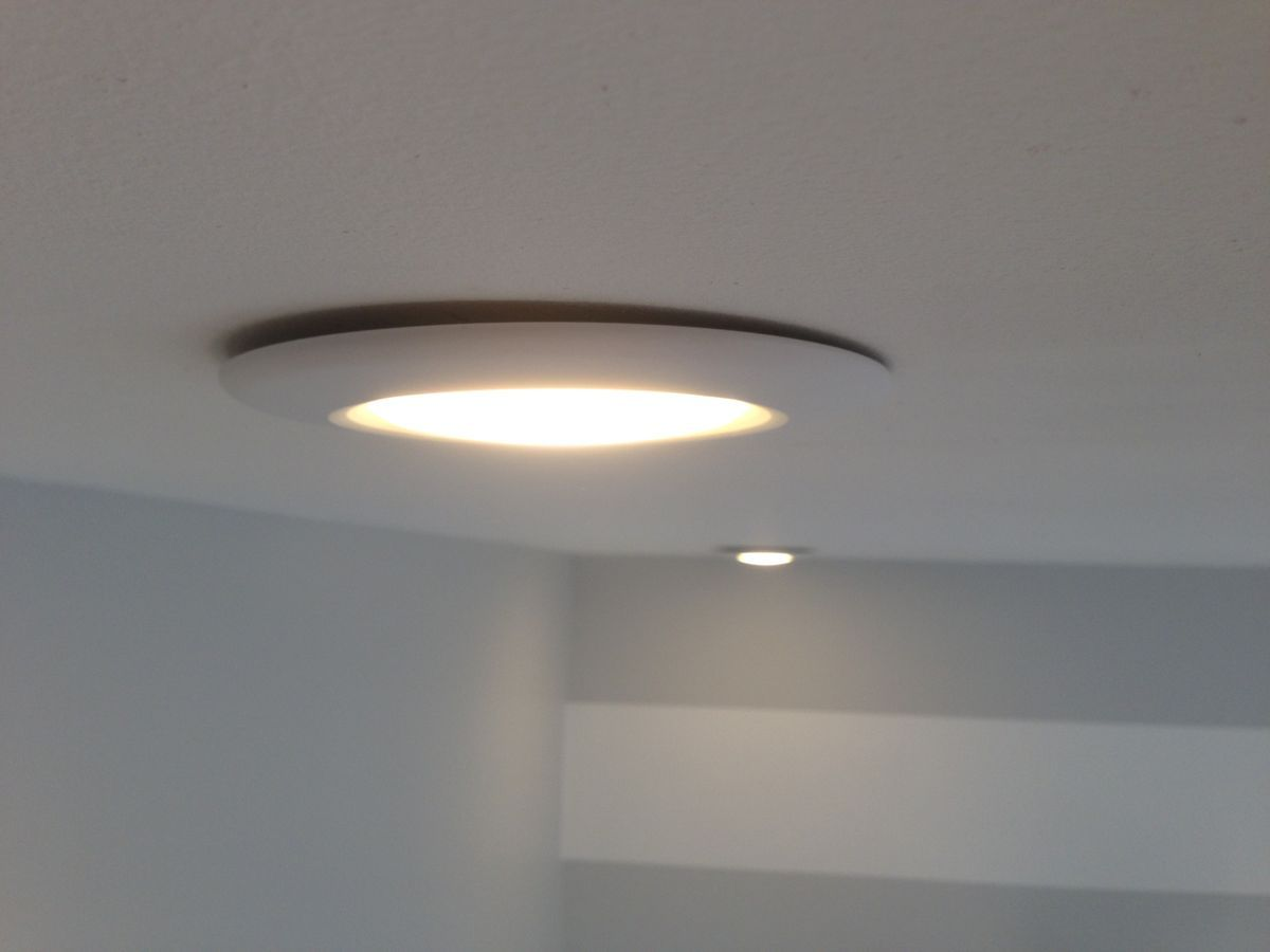 How To Fix The Gap In Installed Canned Lights Recessed Lighting