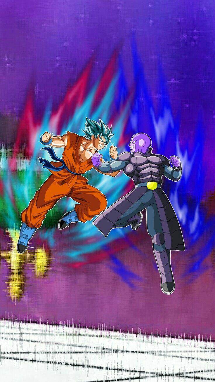 Goku Ssj Blue Vs Hit Dragon Ball Z Dragon Ball Super Dragon Ball Gt