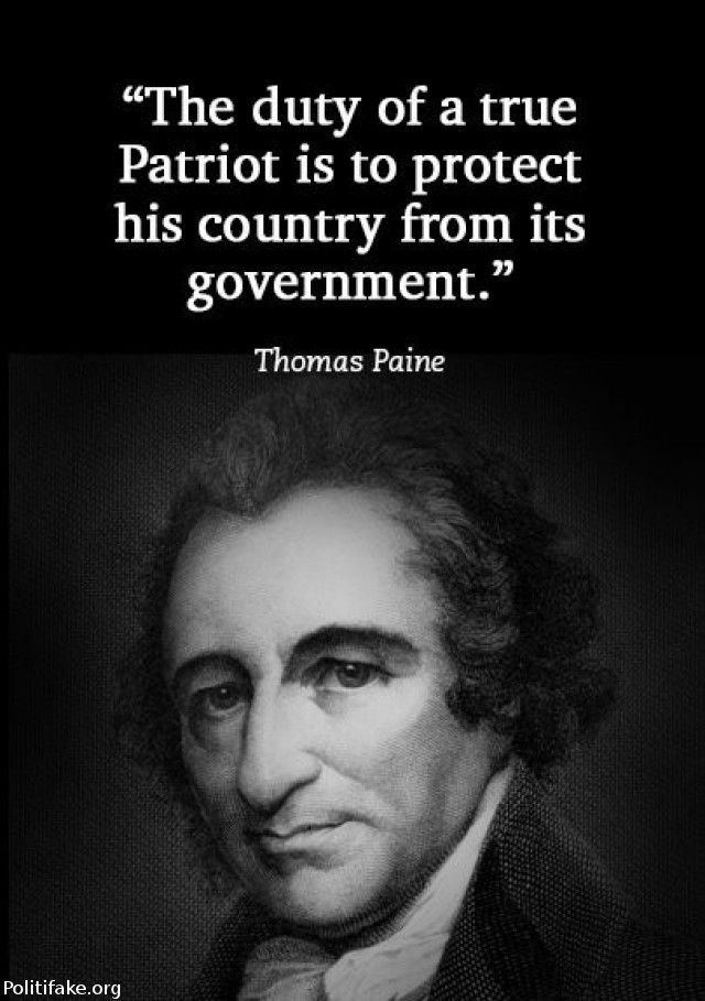 Revolutionary War Quotes The Duty Of A True Patriot Is To Protect His Country From Donald .