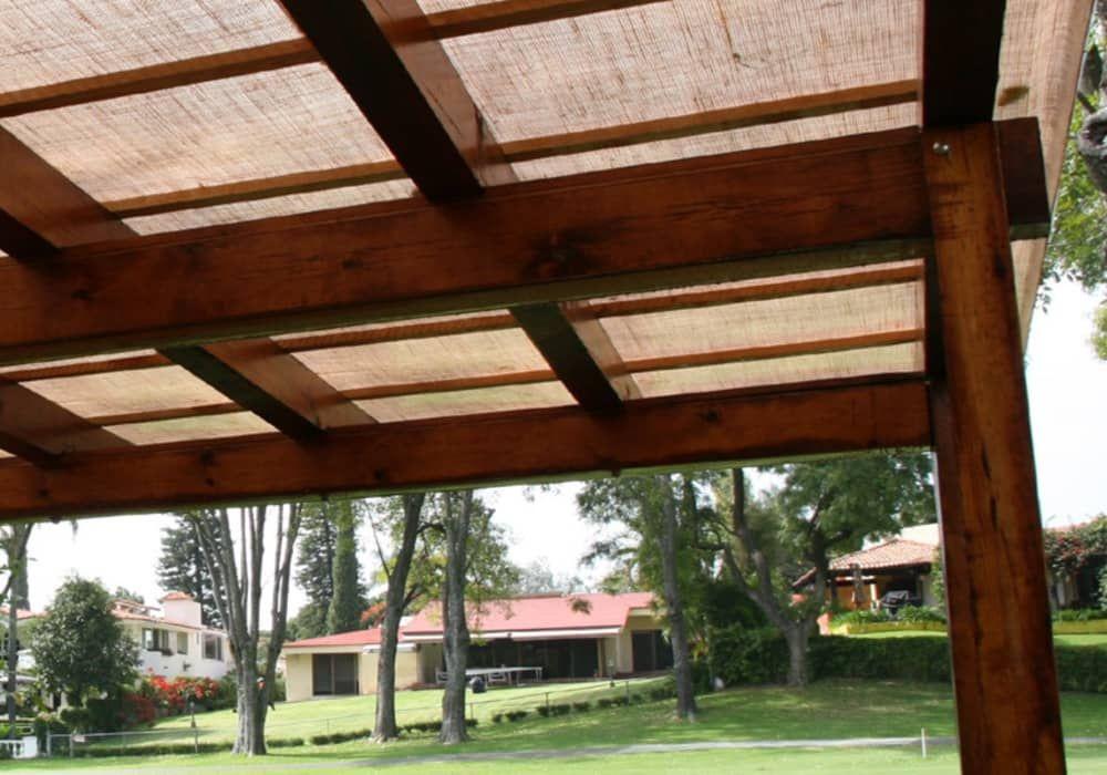 techos y cubiertas para pergolas materiales - Techos Para Pergolas