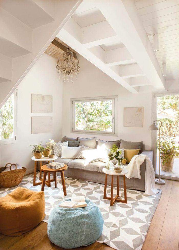 1001 + ideas de decoración de salón pequeño moderno ...