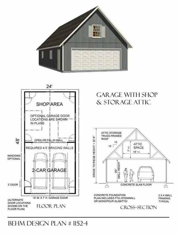 Pin By Moira Ireland On Garage In 2020 Garage Workshop Plans Garage Plans With Loft Large Garage Plans
