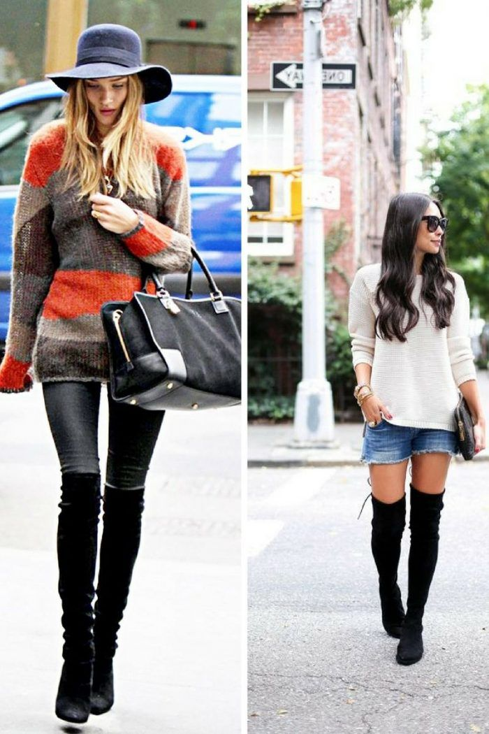 Fashion, Over the knee boot outfit