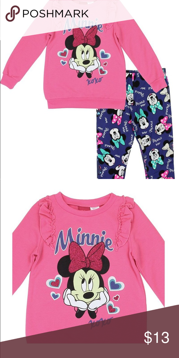 c5eb6f832 Minnie mouse Set Pink Girls Set Matching Sets | My Posh Closet in ...