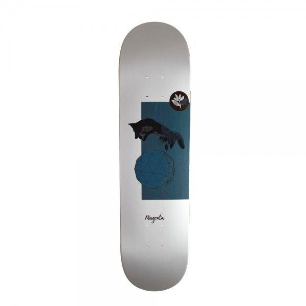 Magenta Fox 8 0 Deck Only Width 19 6 Cm 8 0 Skateboard Decks Magenta Skateboard Online