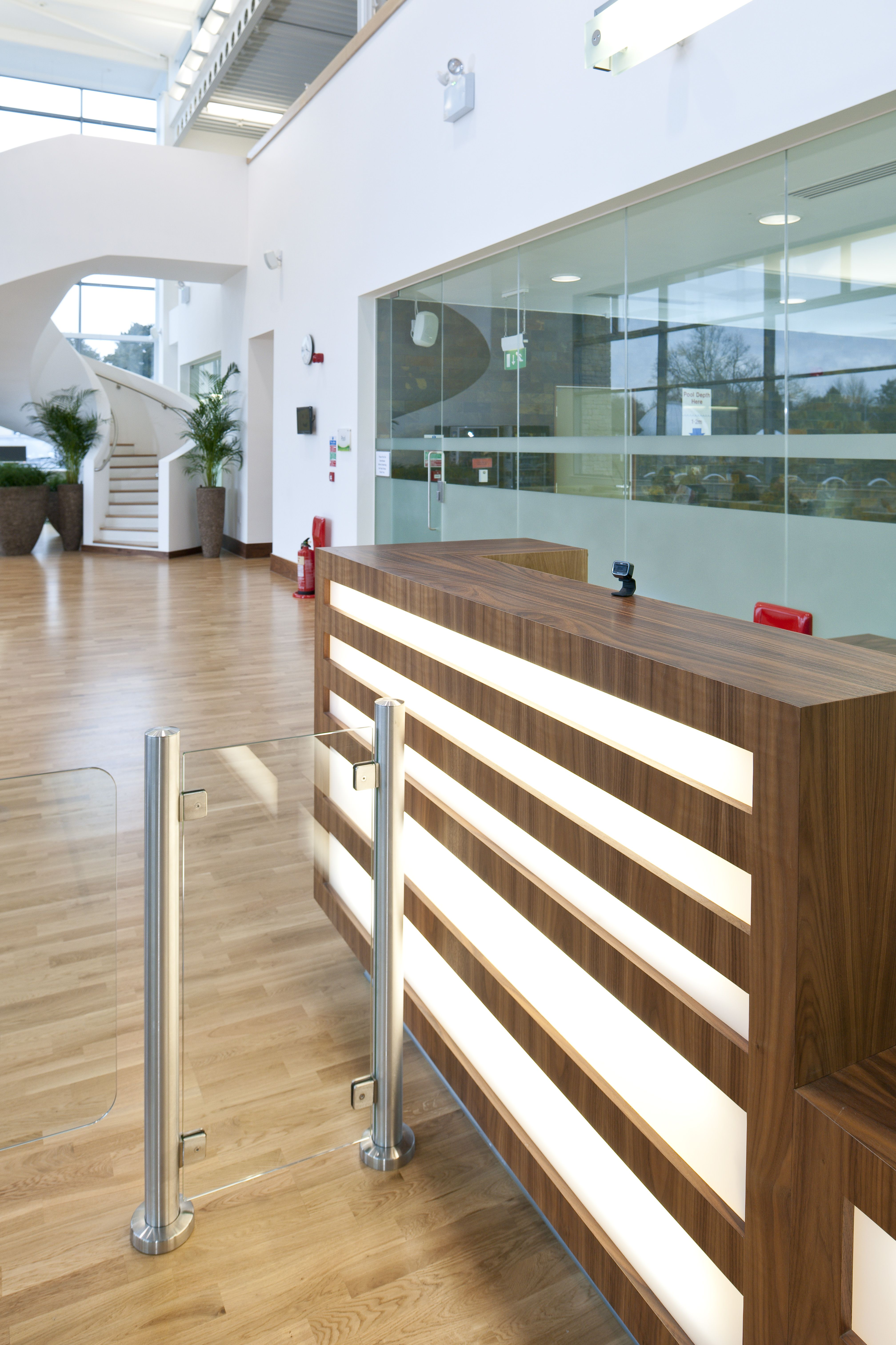 The Roger Bettles Sports Centre University Of Leicester Entrance Hall Reception College