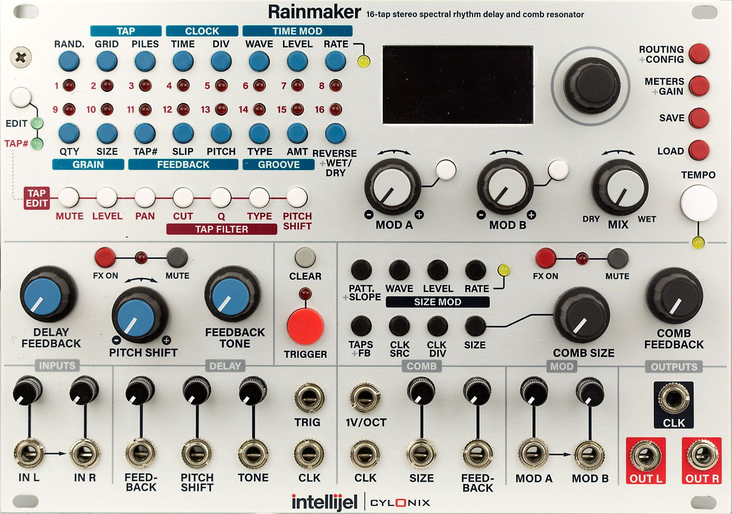 Cylonix Rainmaker | Synth in 2019 | Audio sound, Audio, Drum machine