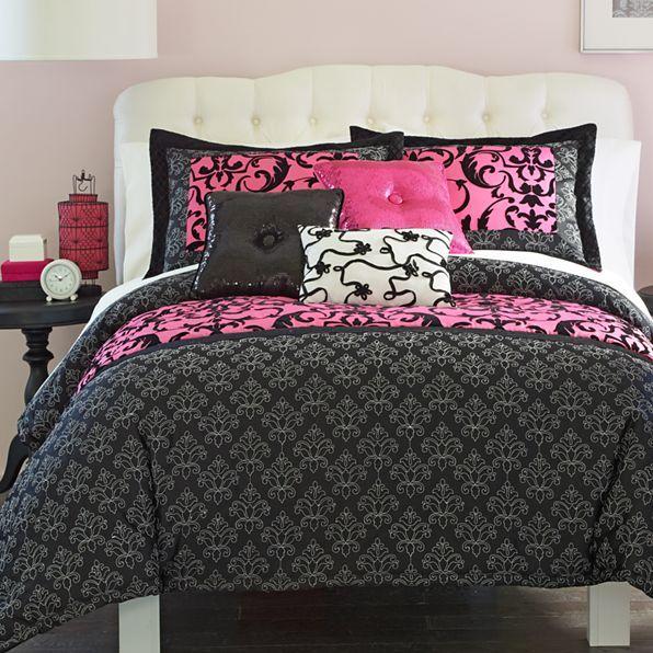 seventeen® paris dreams comforter set & accessories - jcpenney