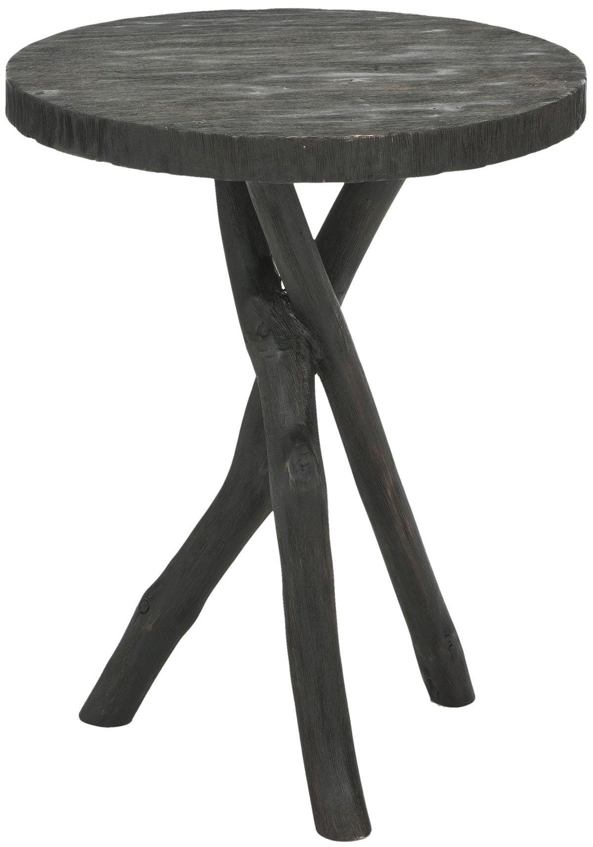 Quinn round end table