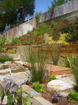 Encinitas Out Door Kitchen Contemporary Landscape San Diego