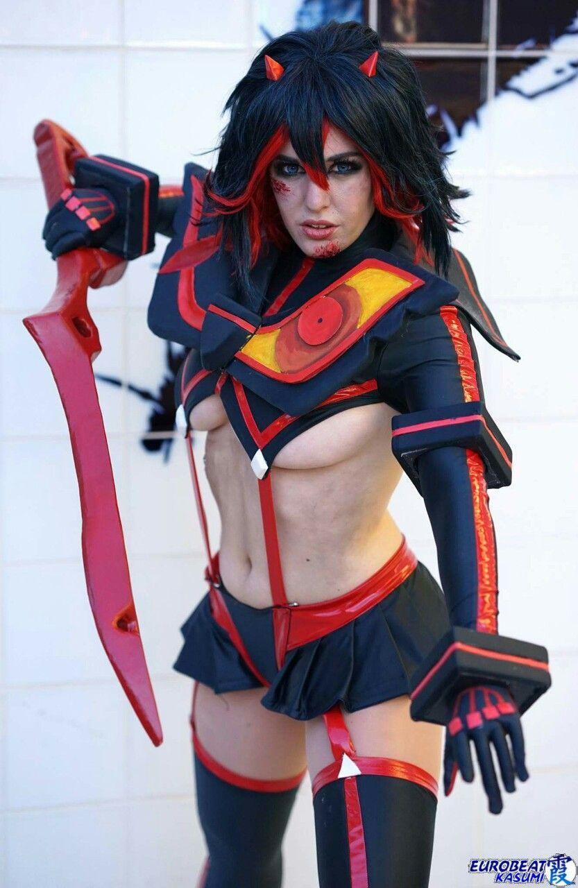 Kill la kill cosplay matoi gif