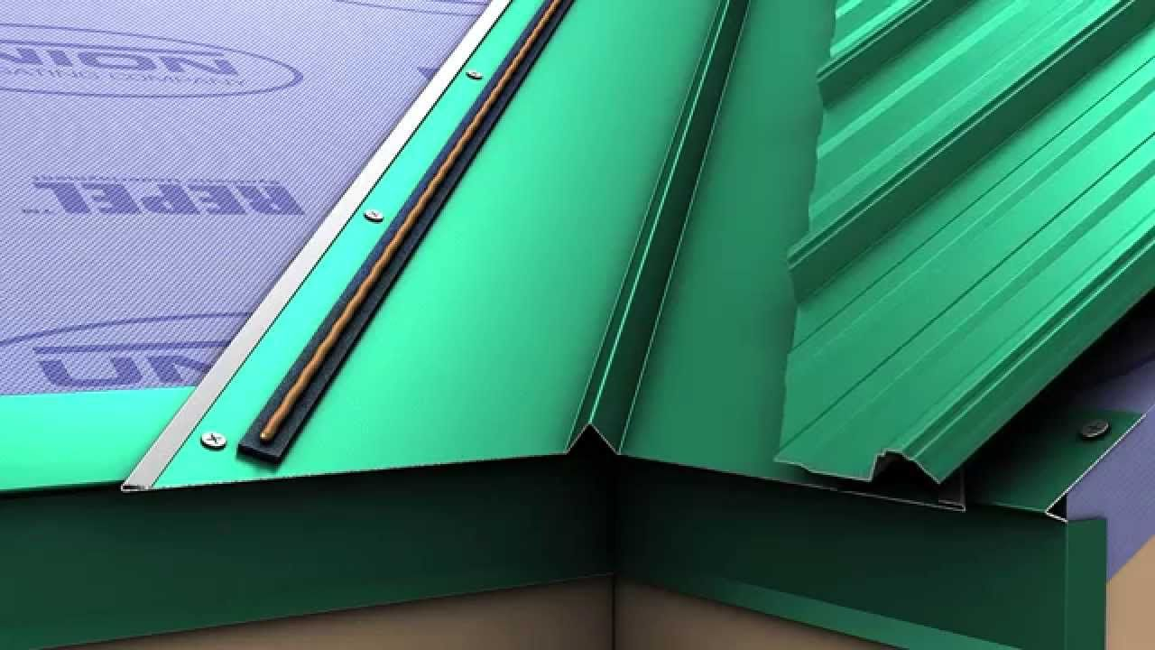 How to install a metal roof valley for Union's MasterRib