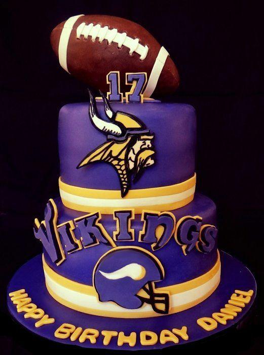 19 Minnesota Vikings Cakes Ideas Vikings Minnesota Vikings Vikings Football