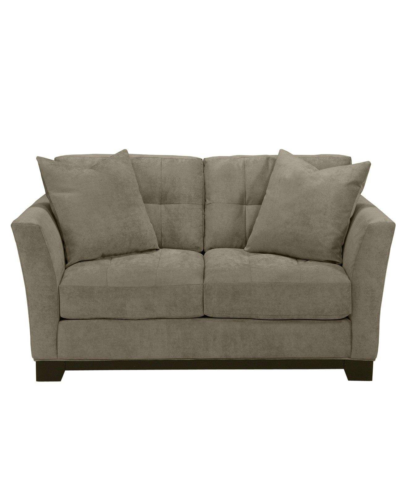 Elliot Fabric Microfiber Loveseat Couches & Sofas Furniture