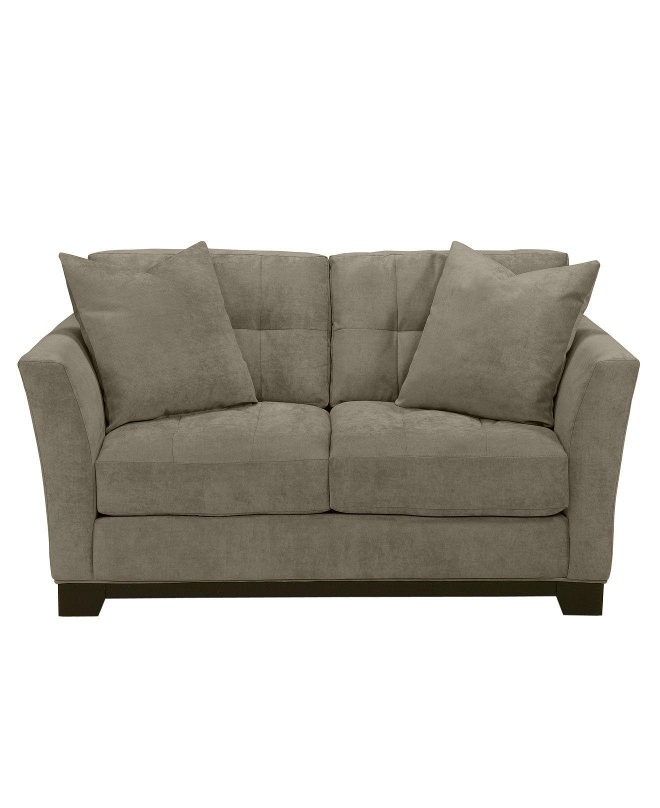 elliot fabric microfiber loveseat couches sofas furniture rh pinterest com