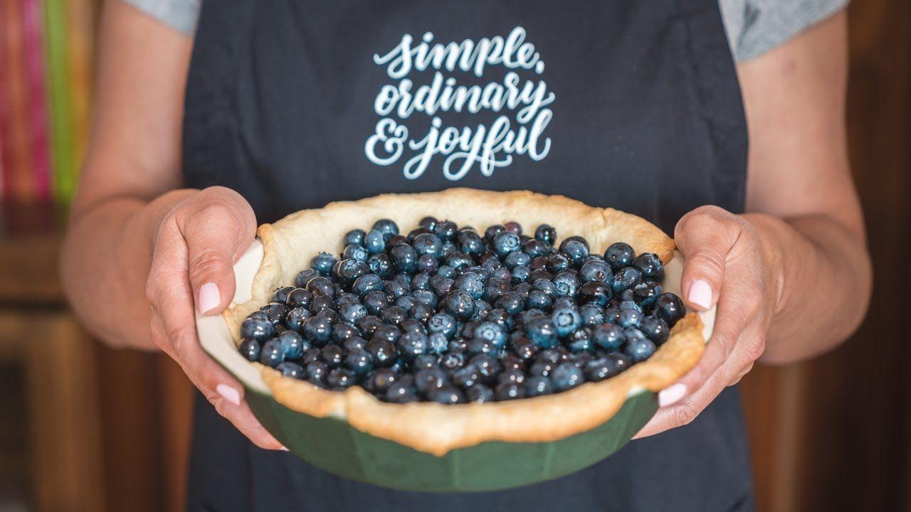 Fresh blueberry pie youtube fresh blueberry pie