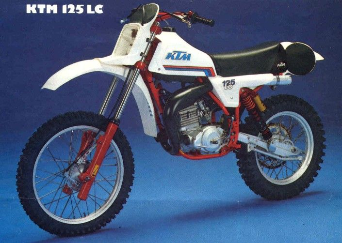 ktm 125 lc 1982 bikes pinterest ktm 125 motocross. Black Bedroom Furniture Sets. Home Design Ideas