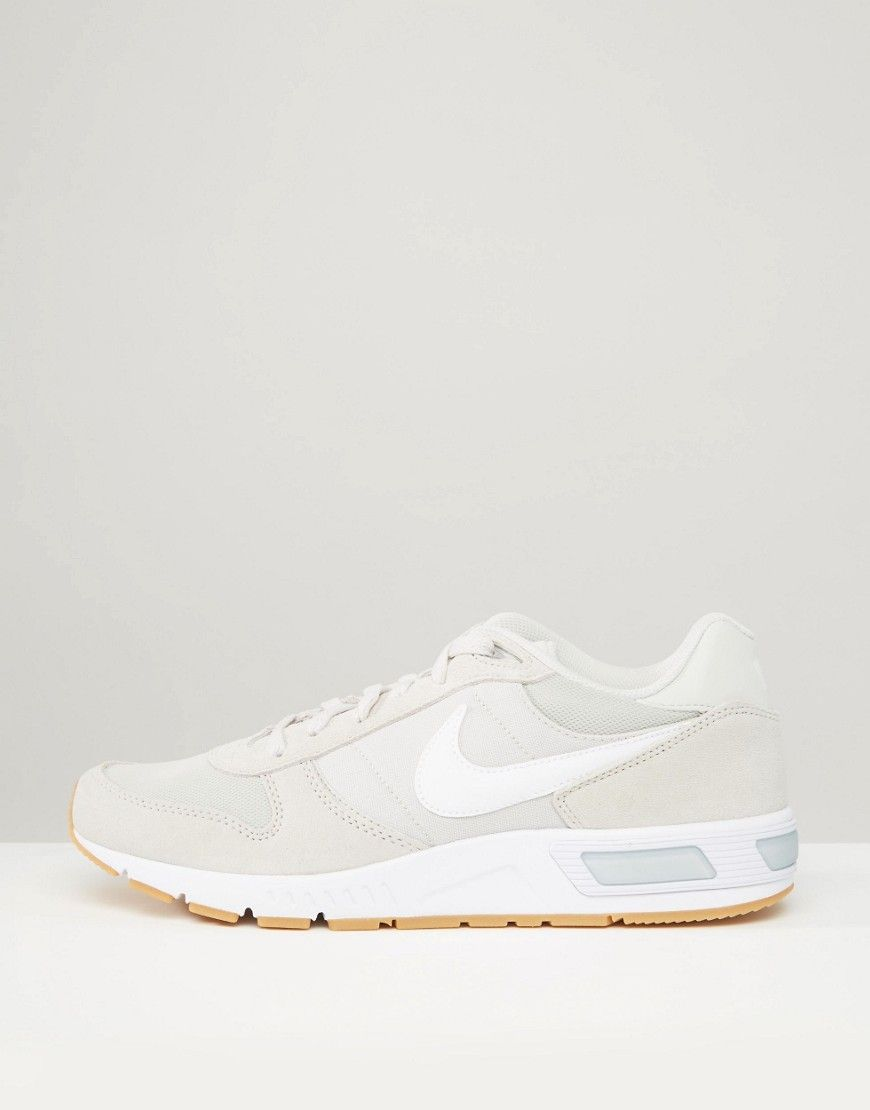 big sale dbe4e 5f1f4 ... Nike Nightgazer Trainers In Beige 644402-020 at asos.com ...