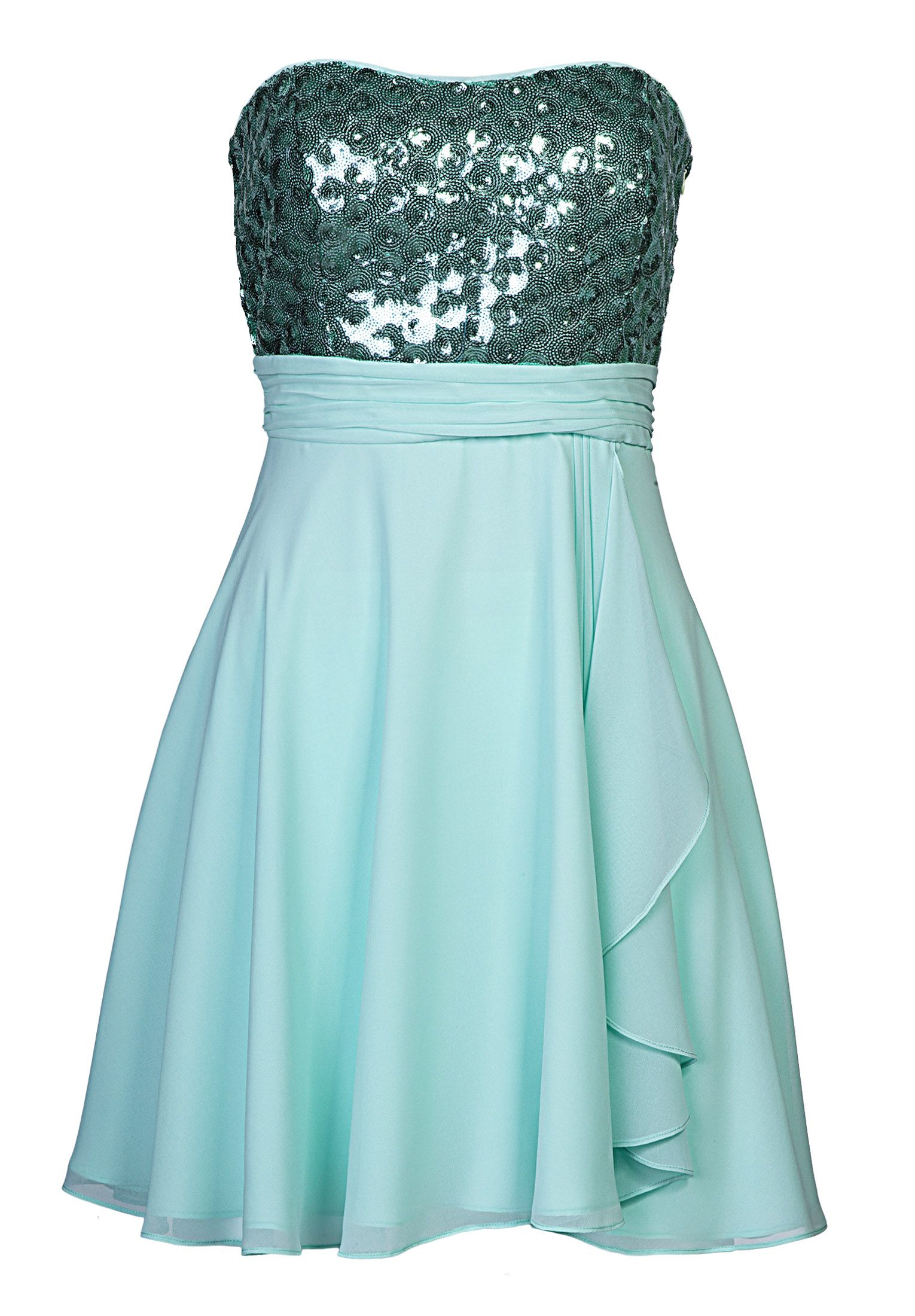 Chiffonkleid - mint | Dress outfits