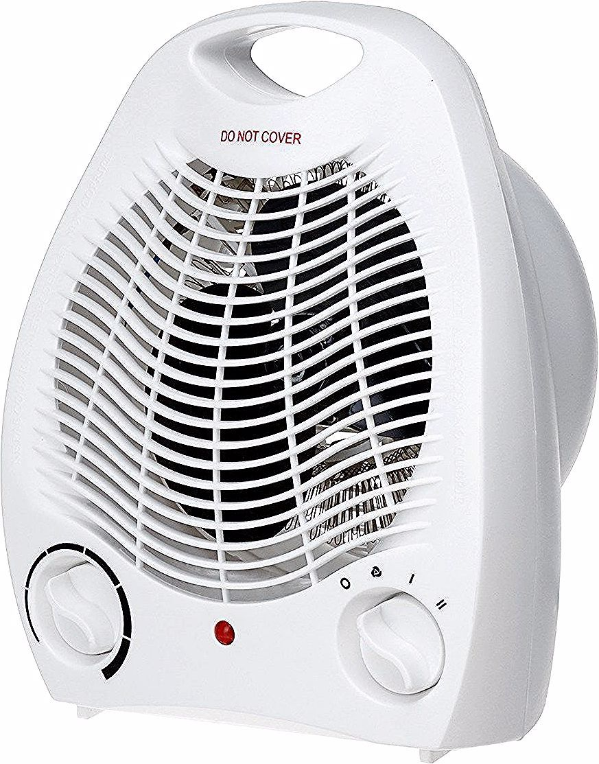 2000w Thermostatic Heater Electric Warmer Air Warm Cool Fan 2