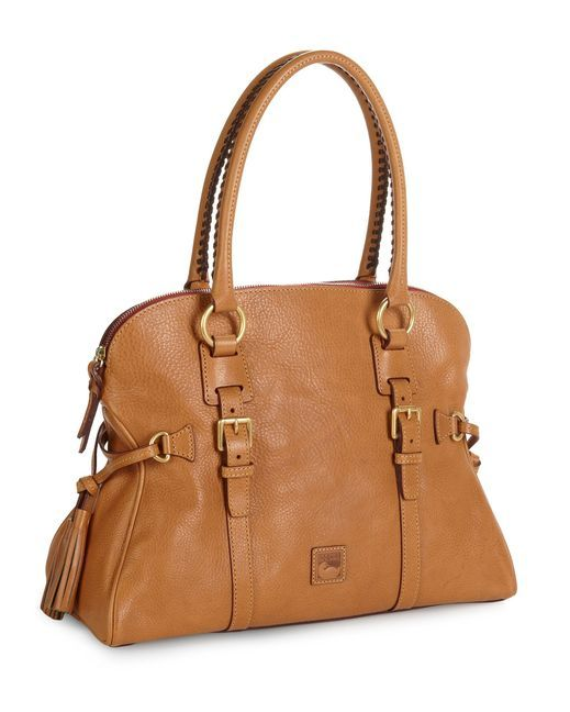 452081d2018d This tan Dooney   Bourke Satchel goes with every outfit