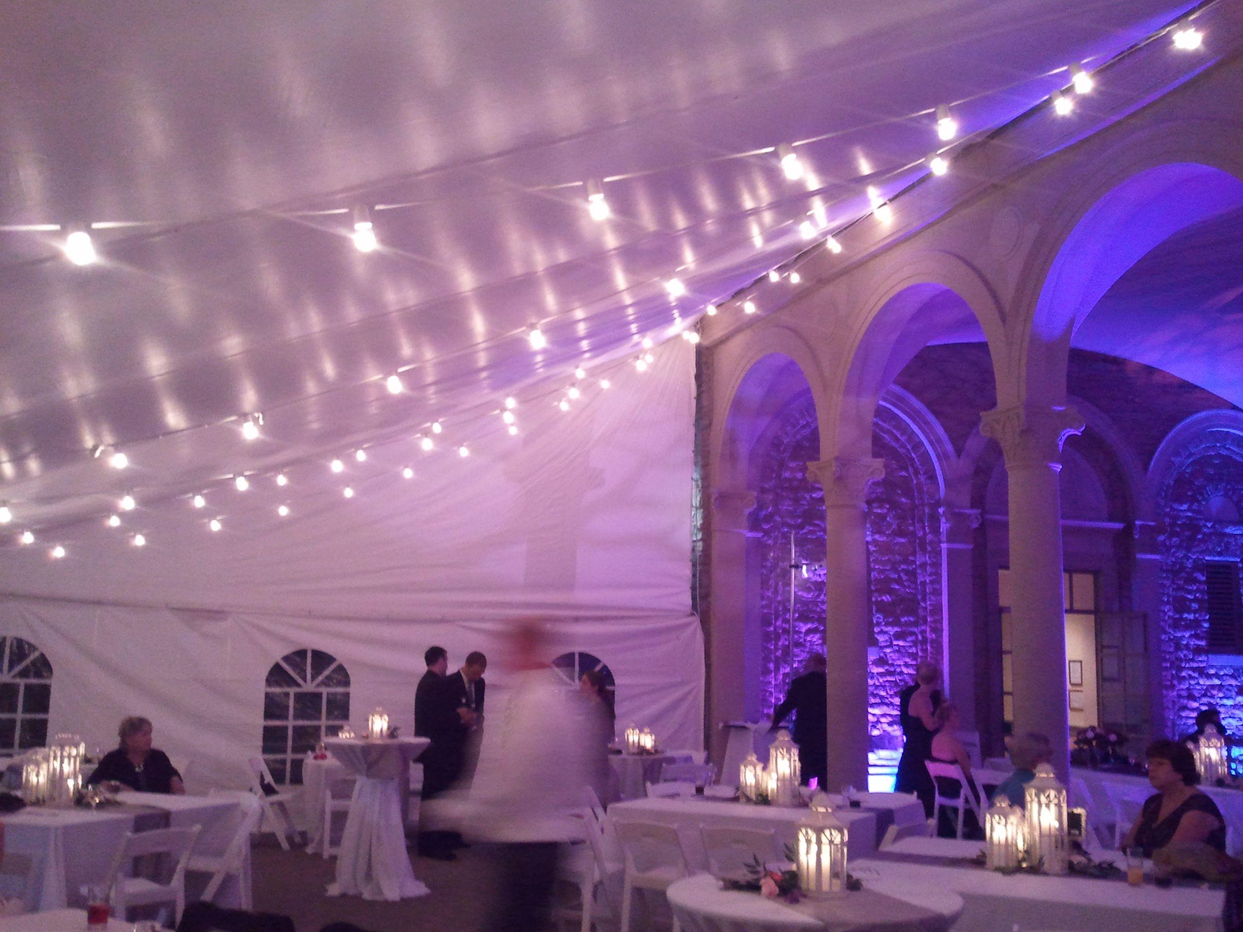 Lighting At Ault Park Cincinnati The Wedding PlannerWedding