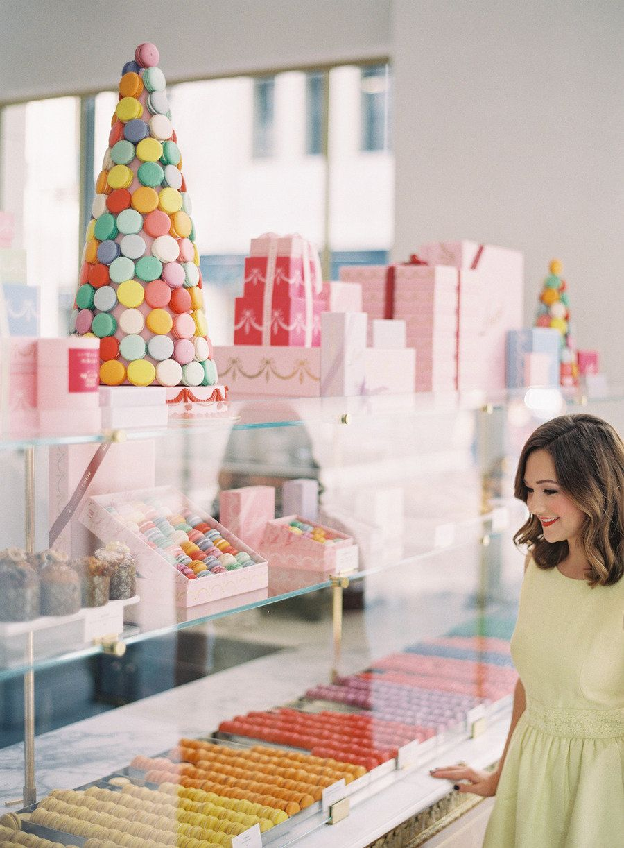 Behind the Scenes at Bottega Louie Bakery cafe, Candy