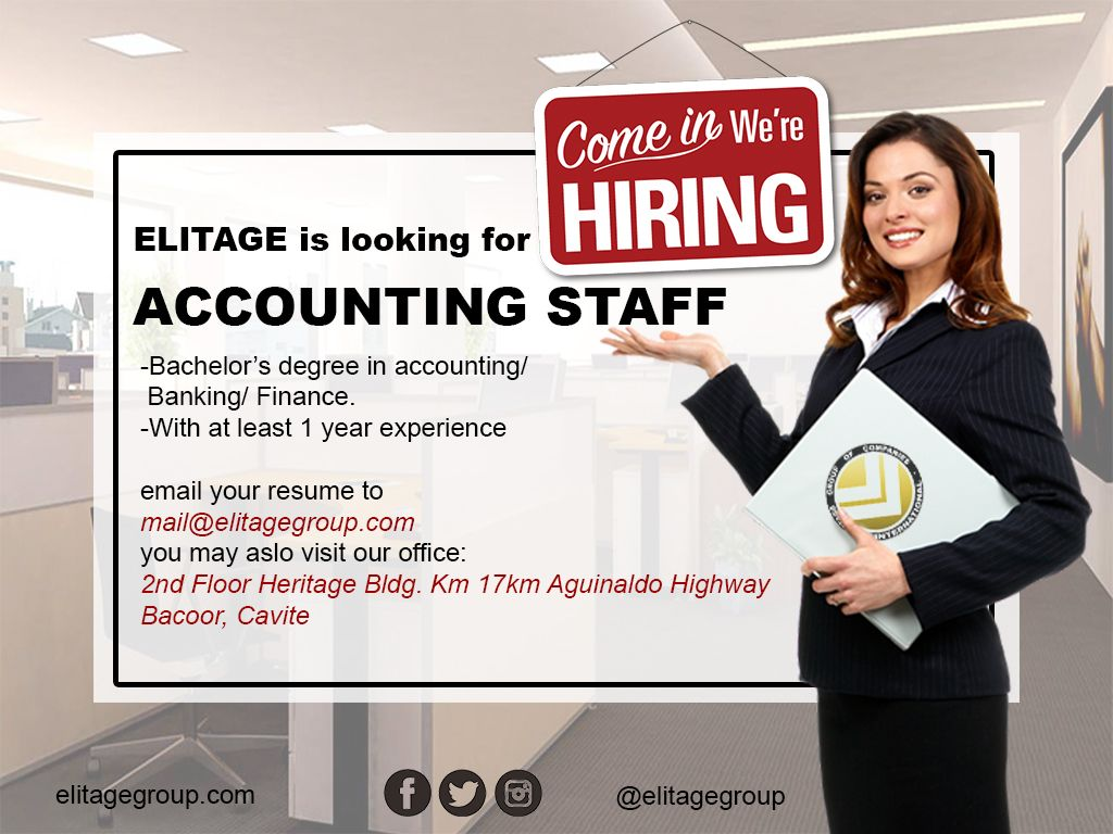 Job Description Job Responsibilities Perform Daily Accounting Transactions Performs Daily Financial Reports Conduct A Accounting Career Opportunities Finance