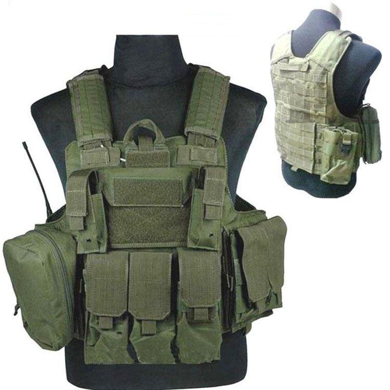 Tactical Vest Military Law Enforcement Swat Vest Plate Carrier Airsoft Vest Sportsman Navy Seal Assault Vest Coyote 3d Tactical Vest Airsoft Vest Assault Vest