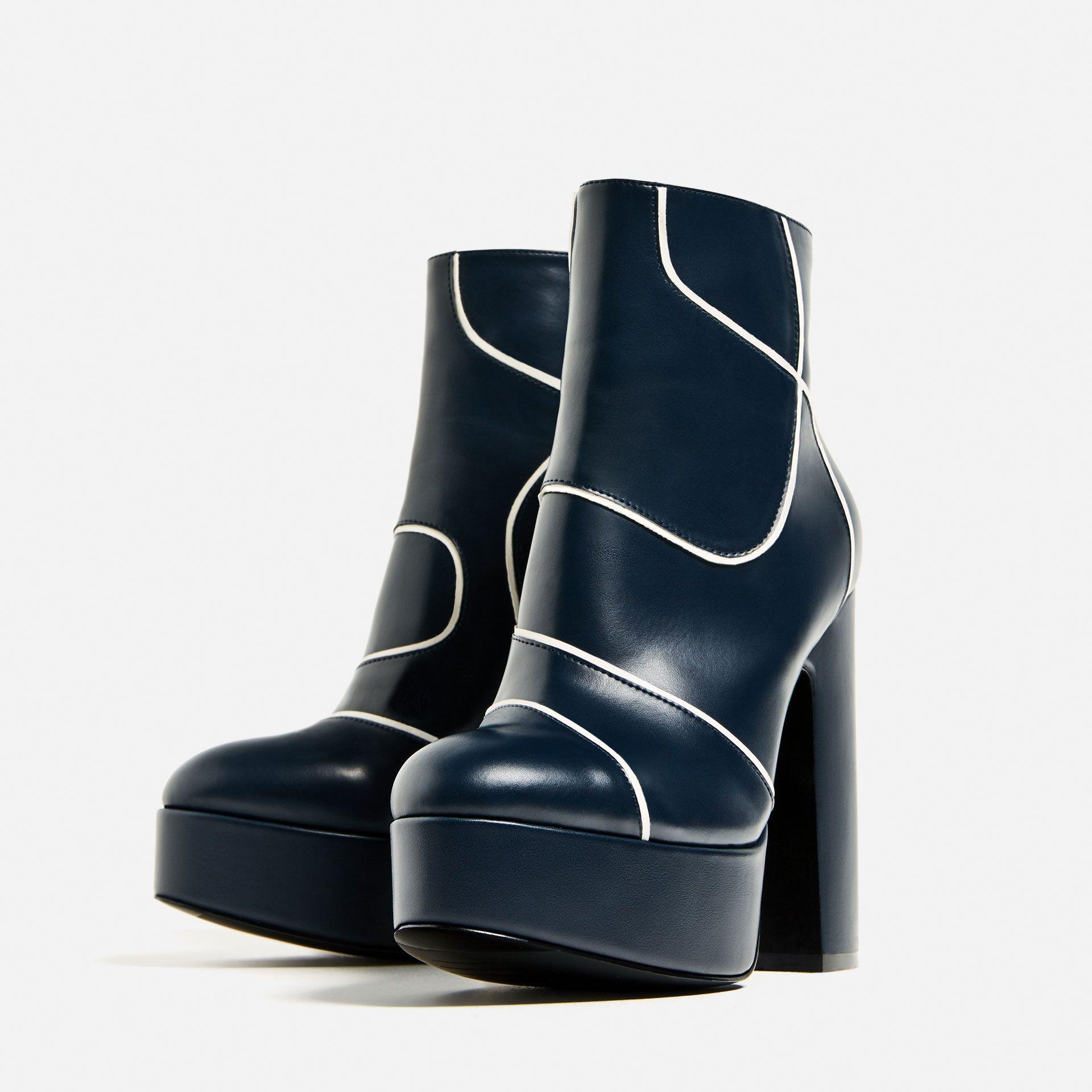 ZARA women's boots-afficher le titre d'origine
